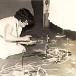 Zélia de Moraes no Ponto do Chefe